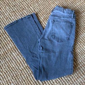 Frame denim Le Crop Mini Boot grey jeans size 25